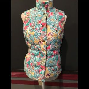 Lily Pulitzer puffer vest